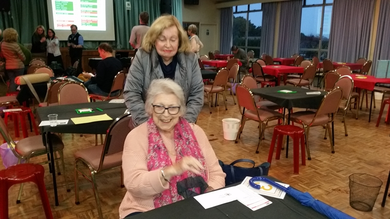 Matchpoint Pairs - Women - 2nd - Betty PRIESTLEY - Judy TWIGG